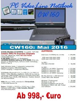 ComWeb.de PC-VideoLine Notebook Angebot
