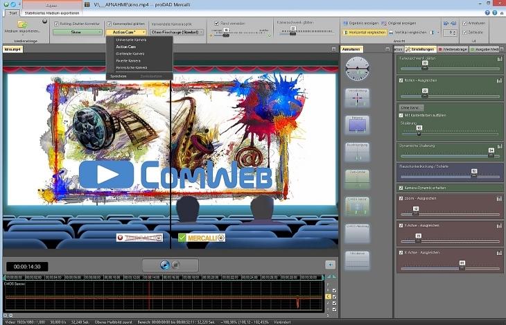 proDAD Mercalli V4 Videolernkurs ComWeb