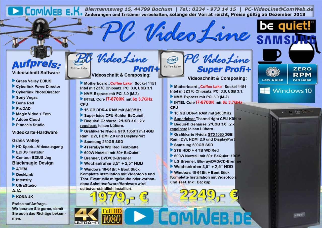 PC-VideoLine Workstation Profi + Experte