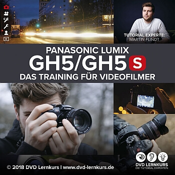 Lern DVD Panasonic Lumix GH5 und GH5 LUT-Pack1