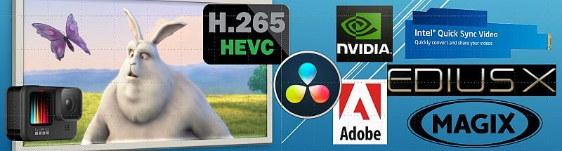 HEVC mit Videoschnitt