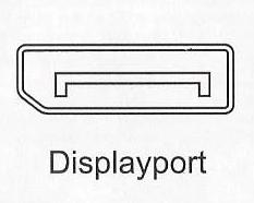 Anschlüsse PC-Monitore Displayport