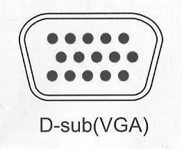 D-Sub(VGA)