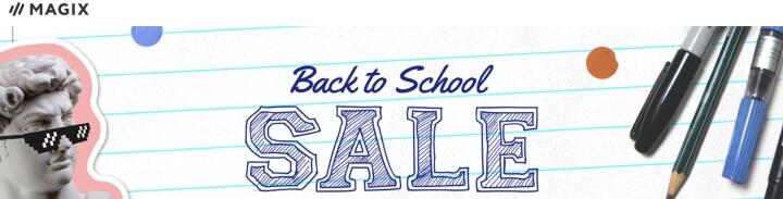 MAGIX – Back to School Sale
