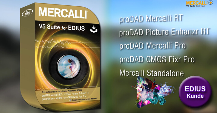 Mercalli V5 EDIUS Suite