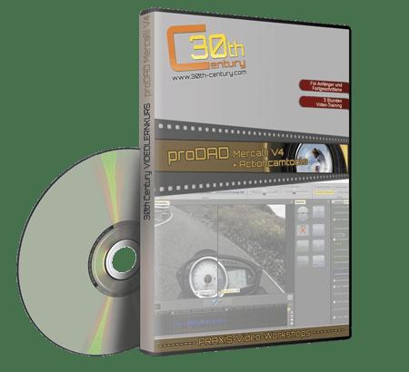 Box proDAD Mercalli V4 Videolernkurs