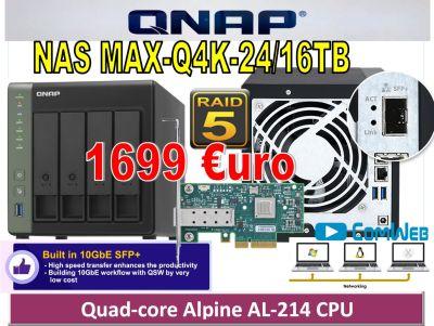 NAS MAX-Q4K-24TB