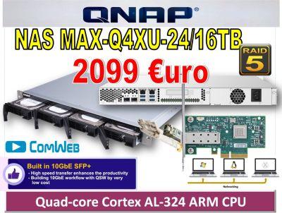 NAS MAX-Q4XU-24TB