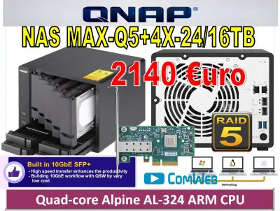 NAS MAX-Q5+4X-24TB