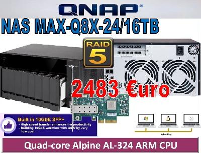 NAS MAX-Q8X-24TB