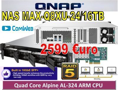 NAS MAX-Q8XU-24TB