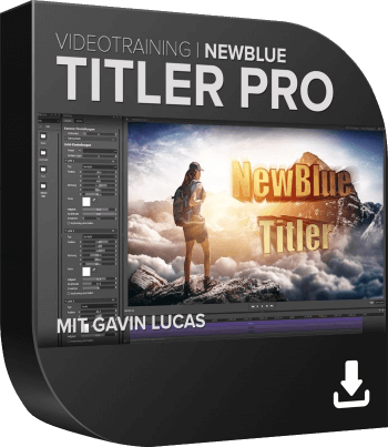NewBlue Titler Pro Videotraining