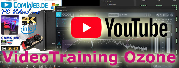 iZotope Ozone Videotraining auf Youtube